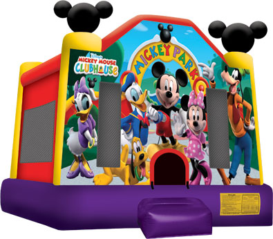 Mickey Mouse Bounce House Rental in Westchester