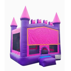 Pink and Purple Princess Bouncy House