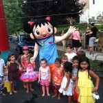 Fiesta Bounce Costume Character Rentals for Birthday Parties - Westchester County, NY and Surrounding Areas.