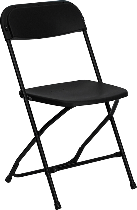 Fiesta Bounce Black Folding Chair