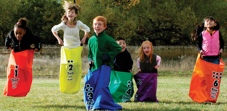 Potato Sack Race Party Game