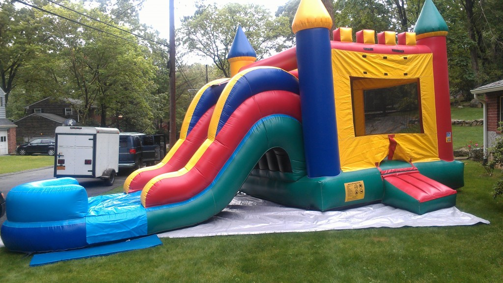 Bouncy House with Slide Rental in New Rochelle NY