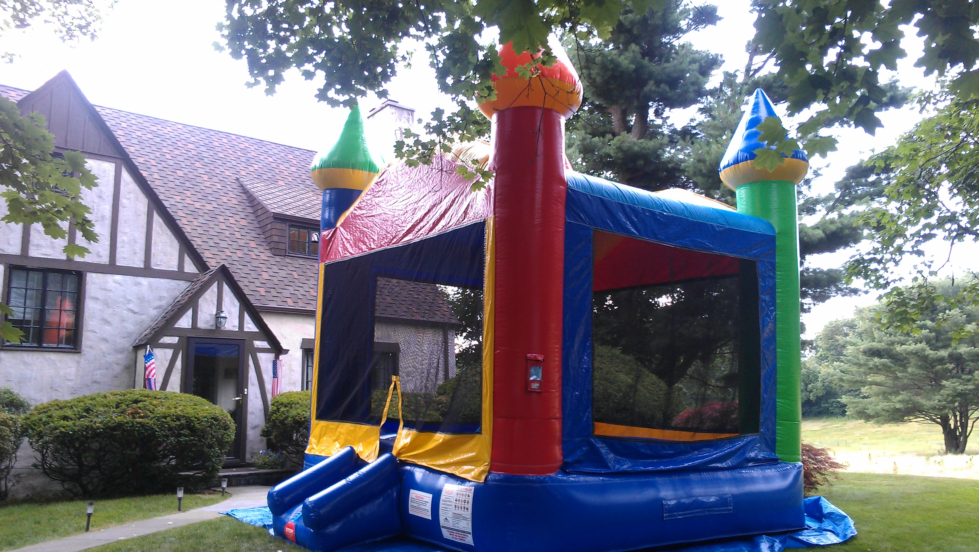 Colorful Bouncy House Rental in Mount Vernon NY