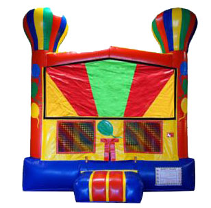 Birthday Balloon Bouncy Castle