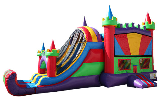 Bounce House with Slide Combos