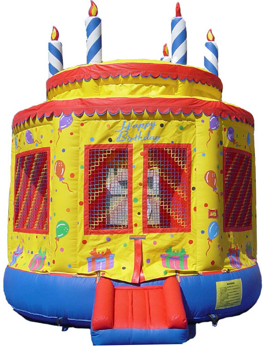 Birthday Cake Bouncy House Rental Westchester NY