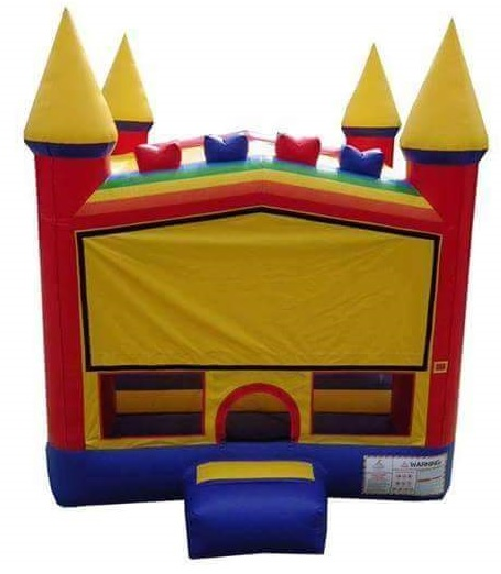 Rainbow Bouncy Castle Rental